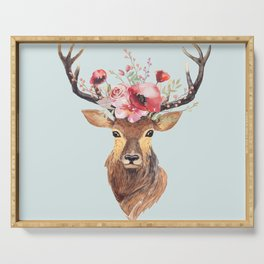 Bohemian Deer 2 Serving Tray