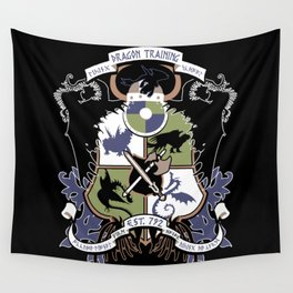 Dragon Training Crest - How to Train Your Dragon Wall Tapestry