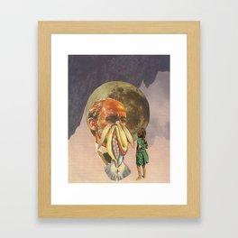 Mother earth is punishing me Framed Art Print
