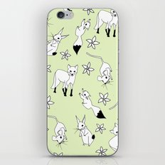 Woodland Creatures - Green iPhone Skin