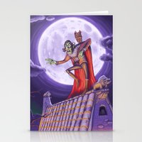 dracula Stationery Cards featuring Dracula by cheesecake