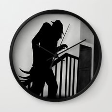 Nightmare in German Film Wall Clock