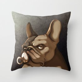 A real bully Throw Pillow