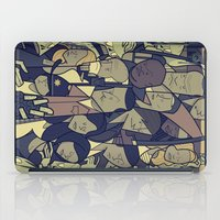 the walking dead iPad Cases featuring The Walking Dead by Ale Giorgini