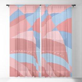 sunset Sheer Curtain