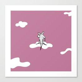 Flying Aardvark by Amanda Jones Canvas Print