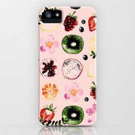 Fruit festival pattern iPhone Case