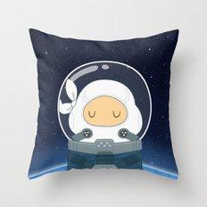 Space Ninja Throw Pillow