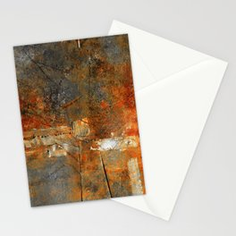 Rust Texture 72 Stationery Cards