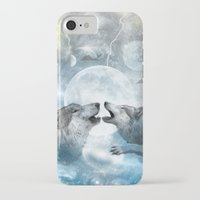 wolves iPhone & iPod Cases featuring Wolves by haroulita