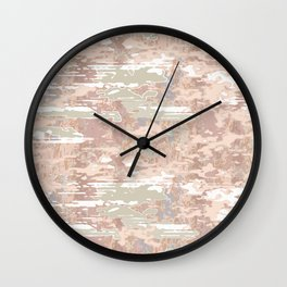 Misty Wall Clock