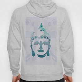 Buddha Head turquoise I Hoody