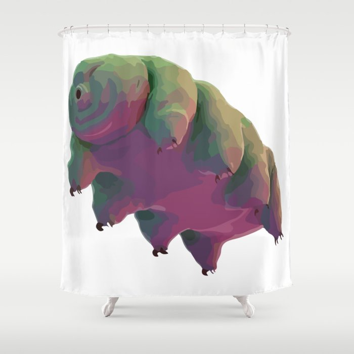Tardigrade doing great Shower Curtain