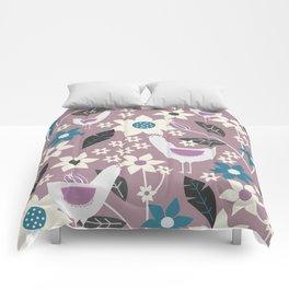 Rooster garden Comforters