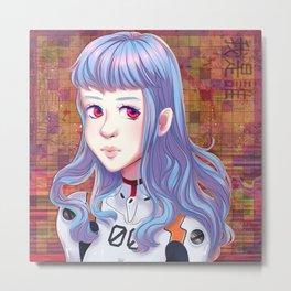rei ayanami_01 Metal Print