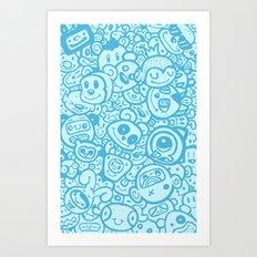 #MoleskineDaily_09 Art Print