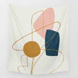 Minimal Abstract Shapes No.46 Wall Tapestry