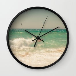 Surf Wall Clock