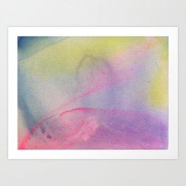 Washes 4 Art Print