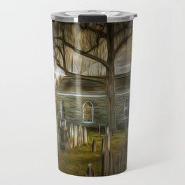The Haunted Church Travel Mug