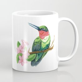 Summer Hummingbird Coffee Mug