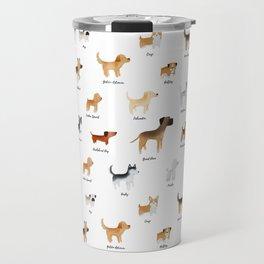 Lots of Cute Doggos - With Names Travel Mug