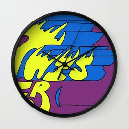 This is for (blank). Wall Clock