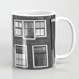 Love Amsterdam Houses and Bikes Coffee Mug