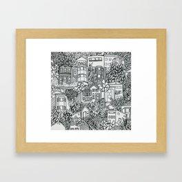 Corona Heights Framed Art Print