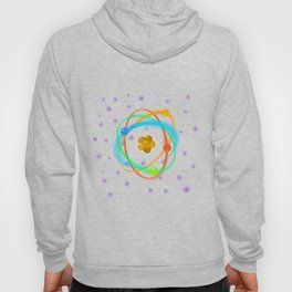 Atomic Structure Spots Hoody