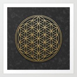 The Flower of Life Art Print