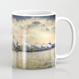 The Thames Barrier London Coffee Mug