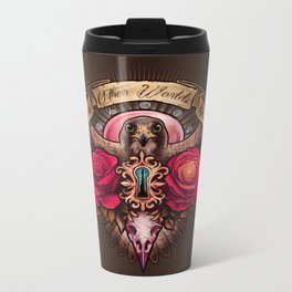 There Are Other Worlds Than These Metal Travel Mug
