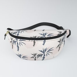 Double palm pattern Fanny Pack