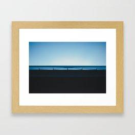 Tin Roof  Framed Art Print