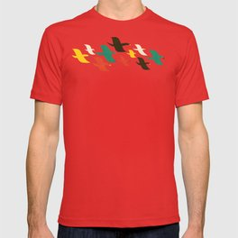 Birds are flying T-shirt