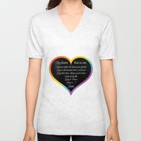 Love Wins Unisex V-Neck