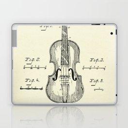 Method of Improving the Tone of Violins-1888 Laptop & iPad Skin