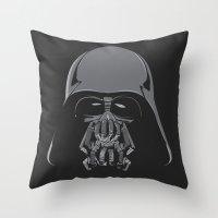 bane Throw Pillows featuring Darth Bane by Moysche Designs