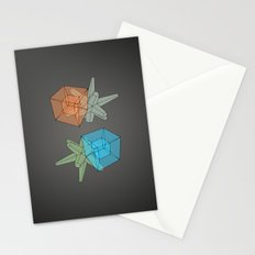 Hypercubic Geodesia Stationery Cards