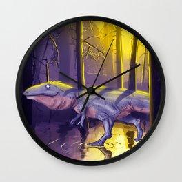 Giganotosaurus dinosaur Wall Clock