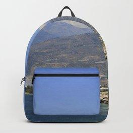 Crete, Greece 8 Backpack