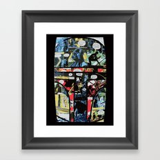 Boba Fett Collage Framed Art Print