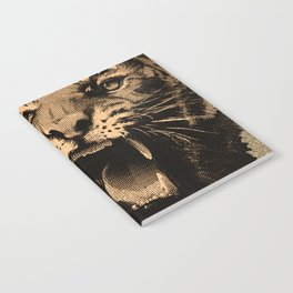 Vintage Tiger Notebook