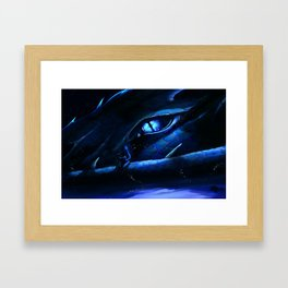 The Dragon and the Scholar Framed Art Print
