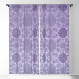 Elegance in Lavender Blackout Curtain