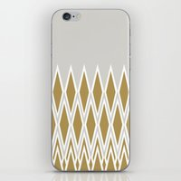 crown iPhone & iPod Skins featuring crown by lorelei art design