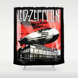 Red Zeppelin Shower Curtain