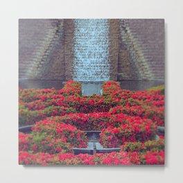Flowering Fall Metal Print