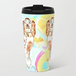 BETTY ON ABSTRACT Travel Mug